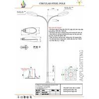 Trụ đèn bát giác 8m