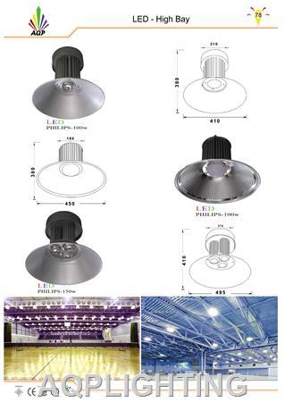 Đèn LED chiếu sáng nhà xưởng philips , nhà kho Philips