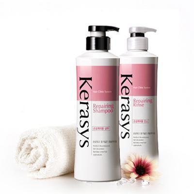 kerasys Repairing ( Phục hồi độ bóng cho tóc bị hư tổn nhẹ, khô và khó chãi )